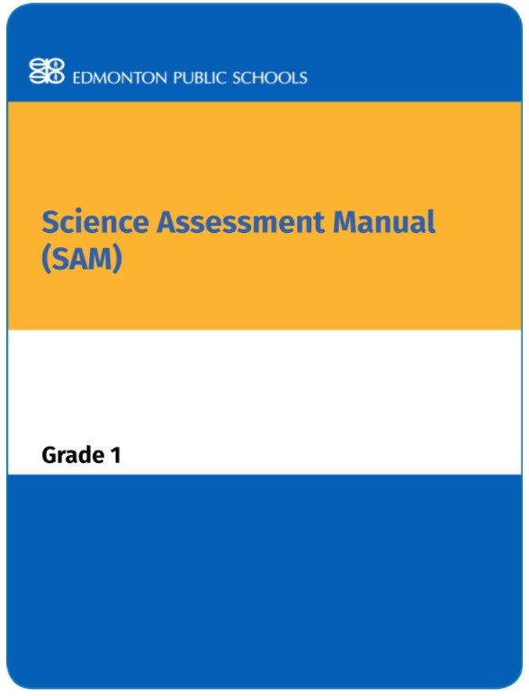 Grade 1 Science Assessment Manual - SAM