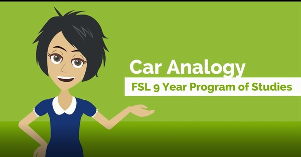 The Car Analogy - French as a Second Language Nine Year Program of Studies