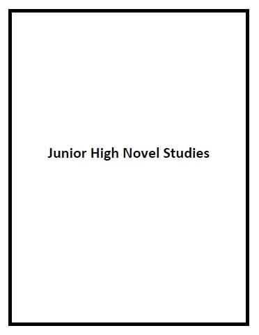 Novel Studies Junior High