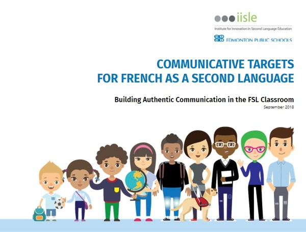 Communicative Targets for French as a Second Language Grades 4-12