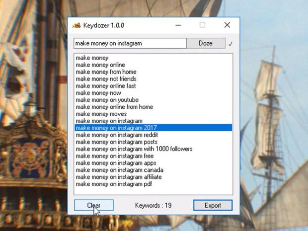 Keyword Collector