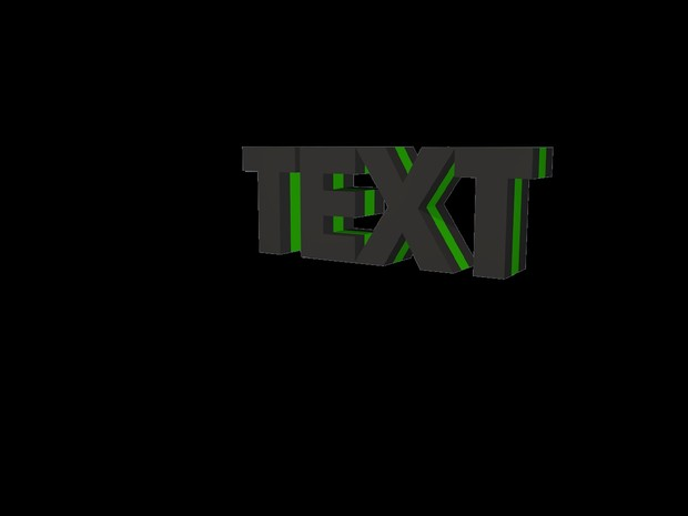    BASIC    3D Text