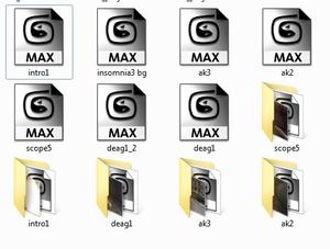 Insomnia 3 3d scenes project files [3dsmax]