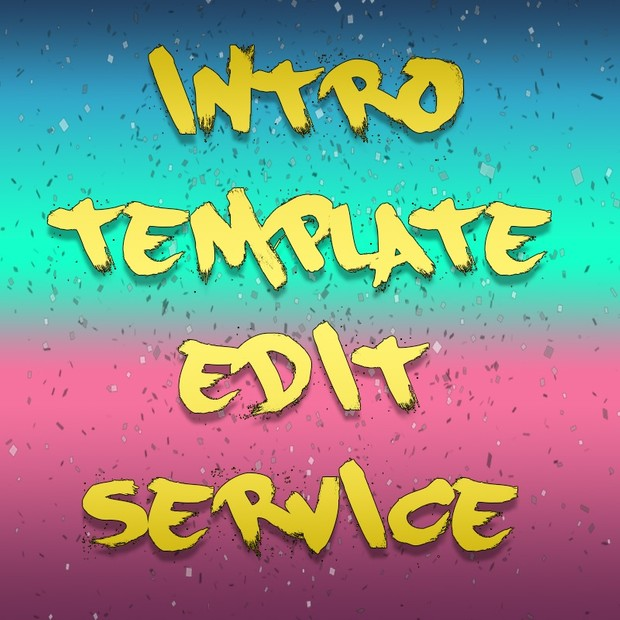 2d Intro Template Send In Edit Service After Effects