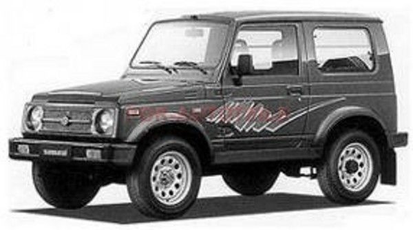 SUZUKI SAMURAI SJ413 REPAIR MANUAL  patrick steger