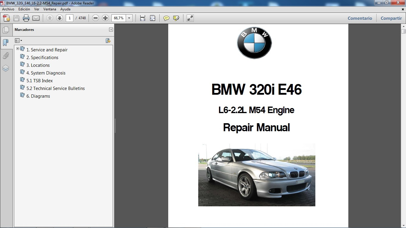bmw 320i e46 manual de taller workshop repair rh sellfy com BMW E46 320I  Badge BMW E90 320I