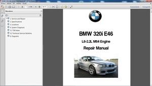 BMW 320i E46 Manual de Taller - Workshop Repair