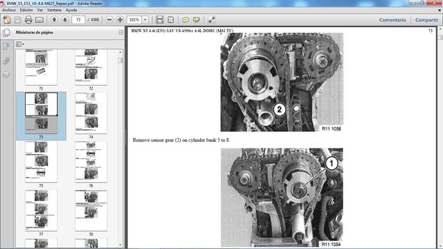 BMW X5 4.4i E53 Manual de Taller - Workshop Repair