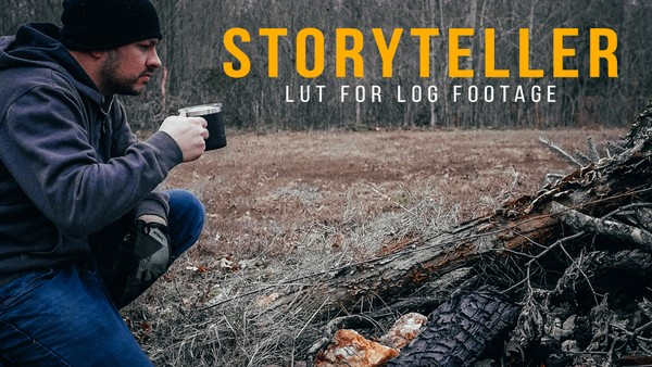Storyteller LOG LUT