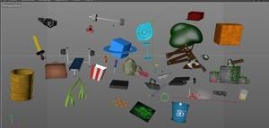 Models Pack C4D, Minecraft