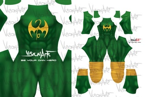 Iron Fist Gold and Green