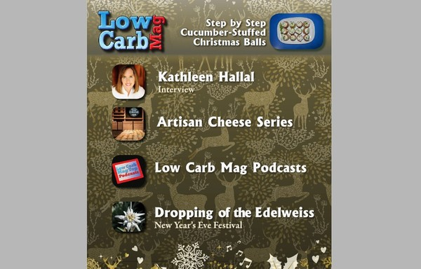 Low Carb Mag December 2015 - The World's Most Loved Low Carb Mag