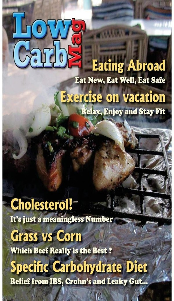 Low Carb Mag August 2013 - The Worlds Most Loved Low Carb Magazine