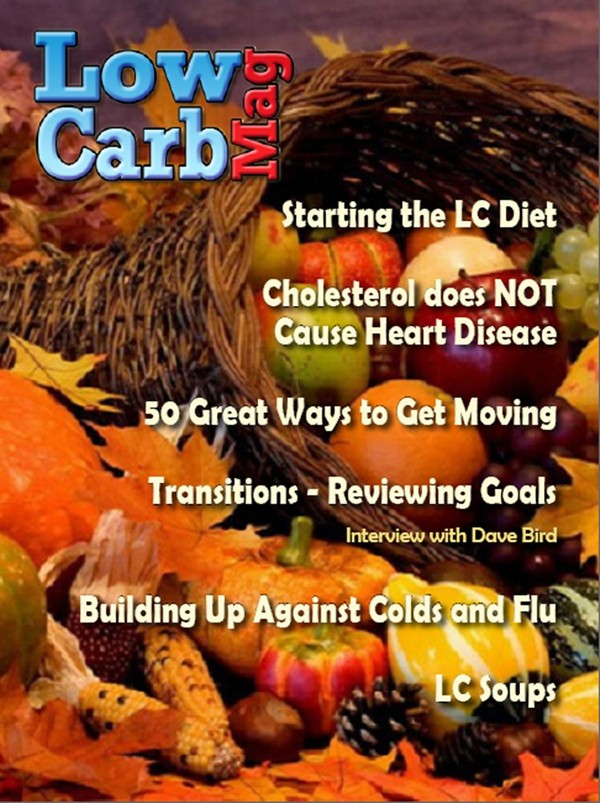 Low Carb Mag October 2013 - The Worlds Most Loved Low Carb Magazine