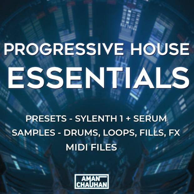 Progressive House Essentials [Presets + Samples]