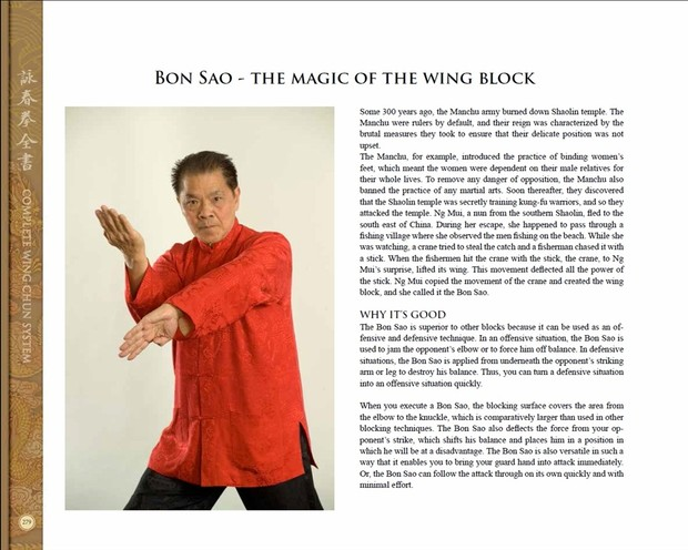COMPLETE WING CHUN SYSTEM by William Cheung