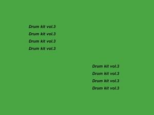 Neguim. - DrumKit Vol.3
