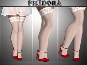 .:Valentine Heels/Stocking.: