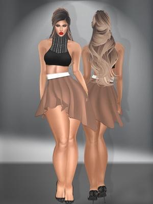 .:Dawna Skirt&Top:.