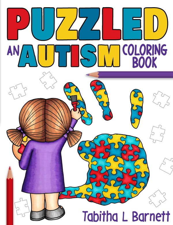 PUZZLED an AUTISM coloring book PDF