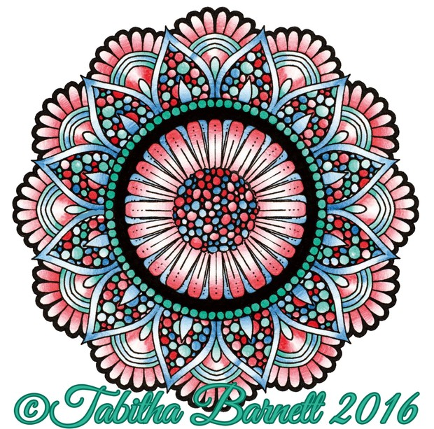 Detailed Floral Mandalas Coloring Pack (10 *NEW* pages) PDF