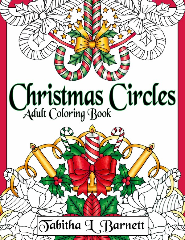 Christmas Circles Adult Mandala Coloring Book PDF