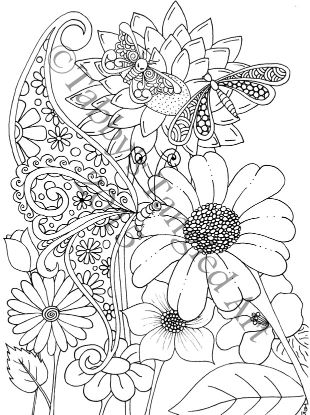 Doodle Dreams Coloring Book for All Ages PDF Format