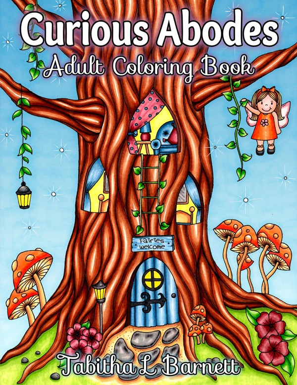 Curious Abodes Adult Coloring Book PDF