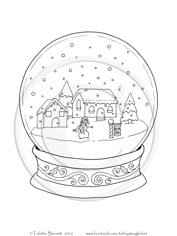 Whimsical Christmas Adult Coloring BOOK PDF