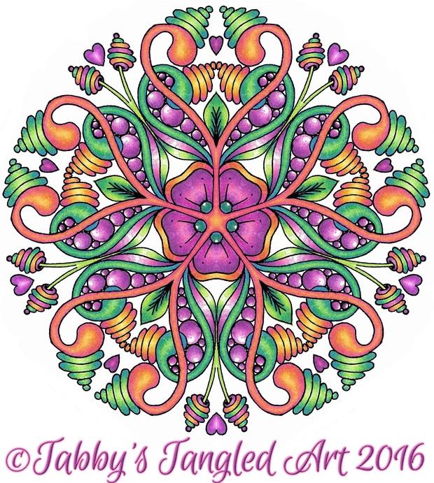 Floral Mandalas Coloring Pages (10 mandalas PDF)