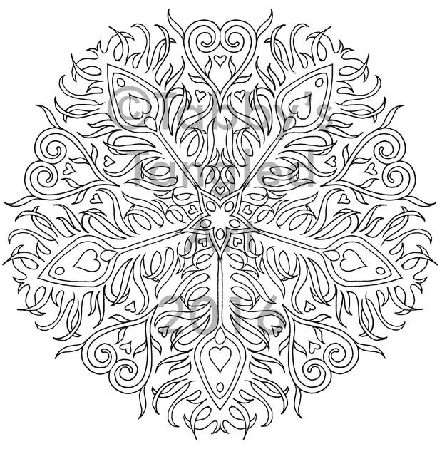 Nature Inspired Mandalas Coloring Pack (11 new mandalas)