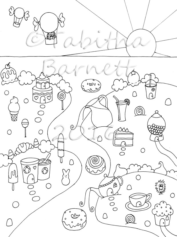 Candy Cove Coloring Pack #2 PDF