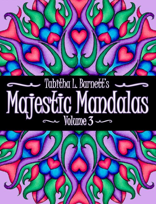 Majestic Mandalas Vol. 3 Adult Coloring Book PDF