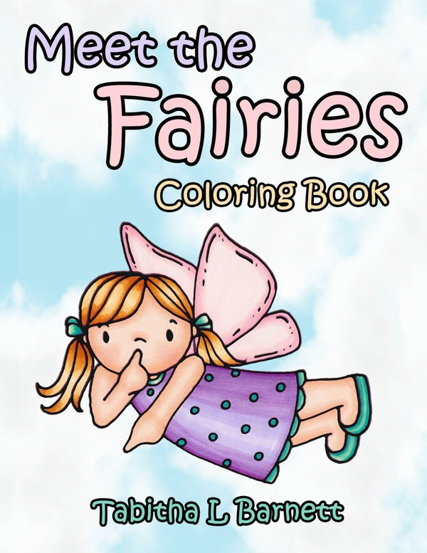 Meet the Fairies PDF Coloring Book