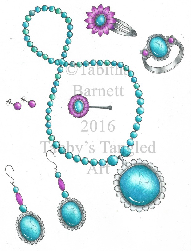 How to color smooth Gemstones (and flowers) PDF