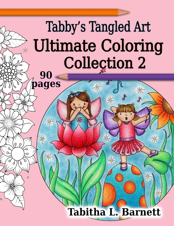 Tabby's Tangled Art Ultimate Coloring Coll. 2 PDF