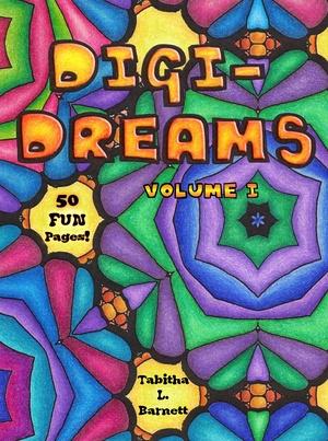 Digi-Dreams Adult Coloring Book PDF (vol. I)