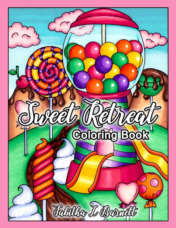 Sweet Retreat Coloring Book PDF