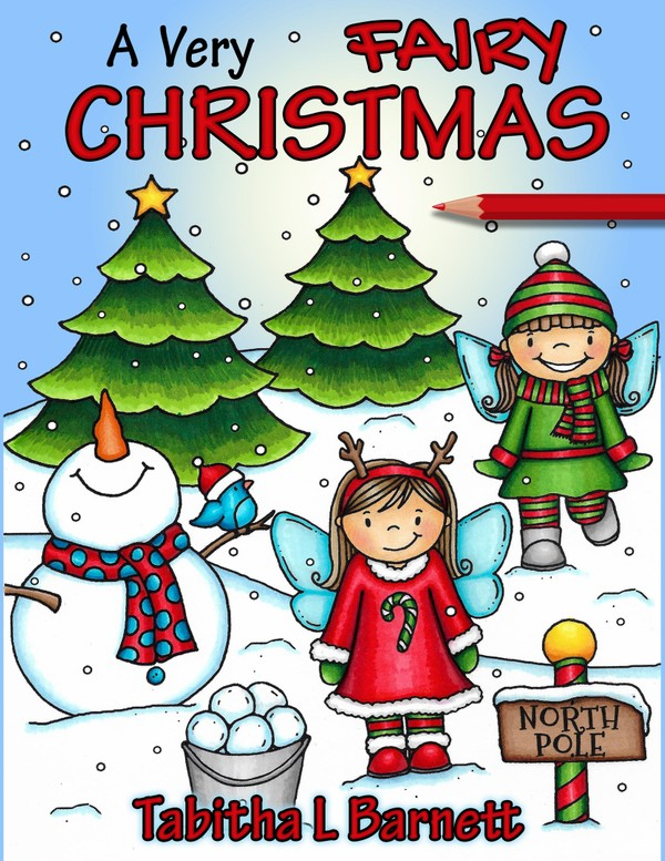 A Very Fairy Christmas Adult Coloring Book PDF
