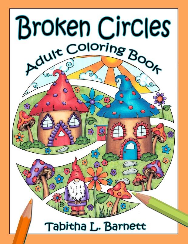 Broken Circles Adult Coloring Book PDF