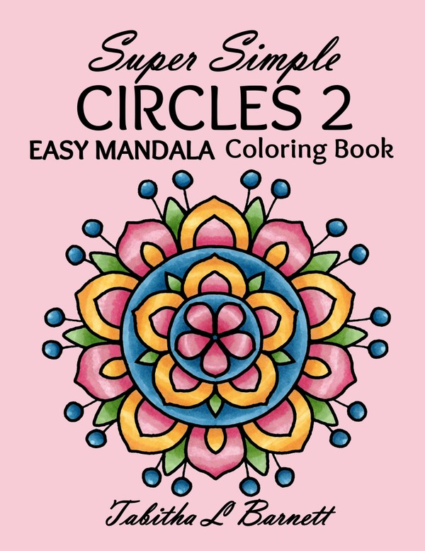 Super Simple CIRCLES 2 PDF Coloring Book