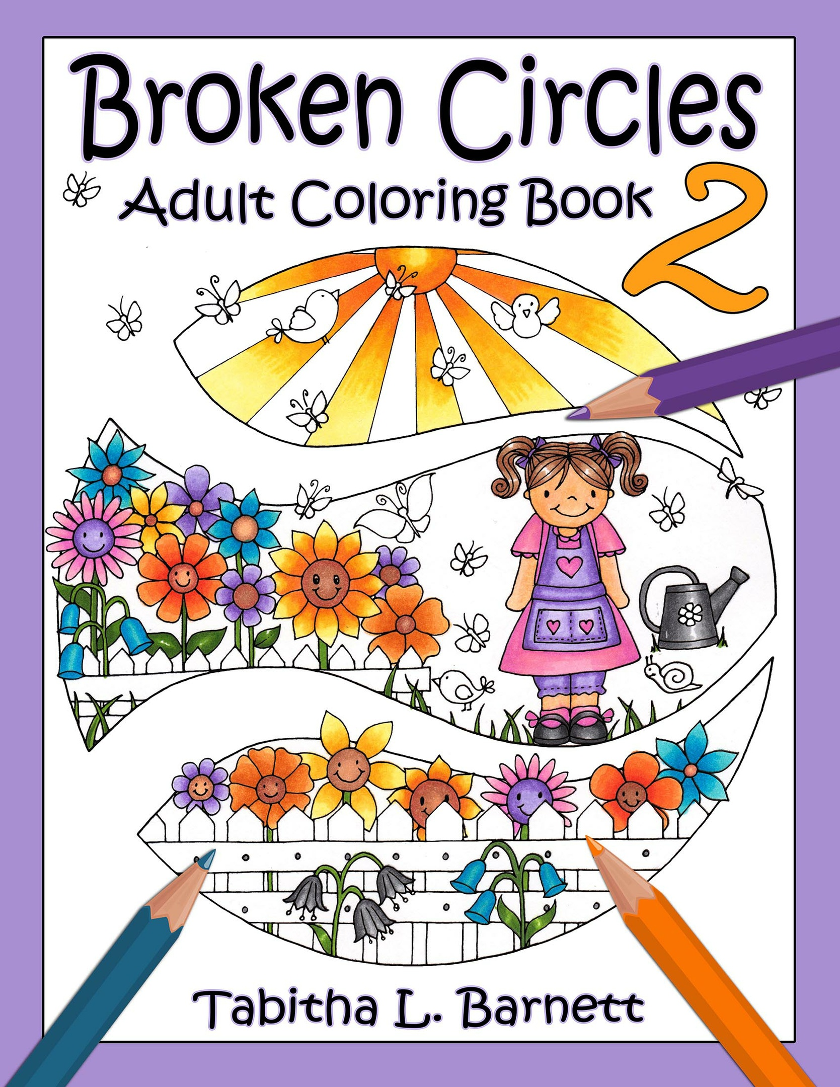 Gemstone Coloring Pack (6 Pages) PDF - Tabby's Tangled Art