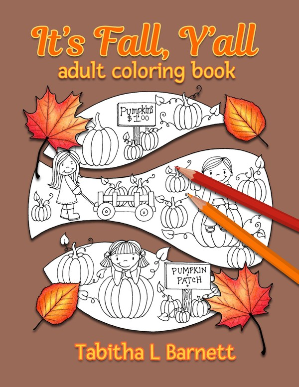 It's Fall, Y'all Adult Coloring Book PDF