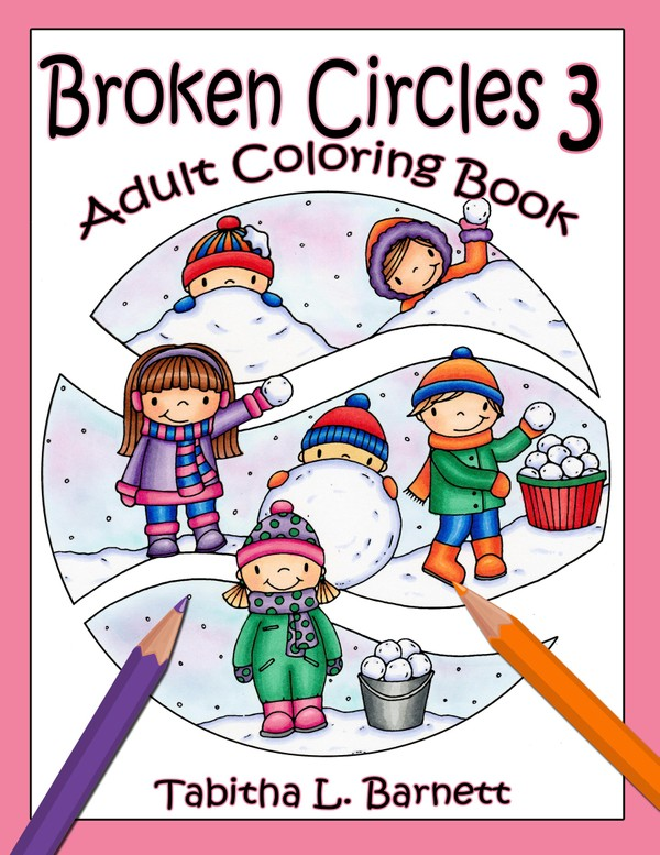 Broken Circles 3 Adult Coloring Book PDF