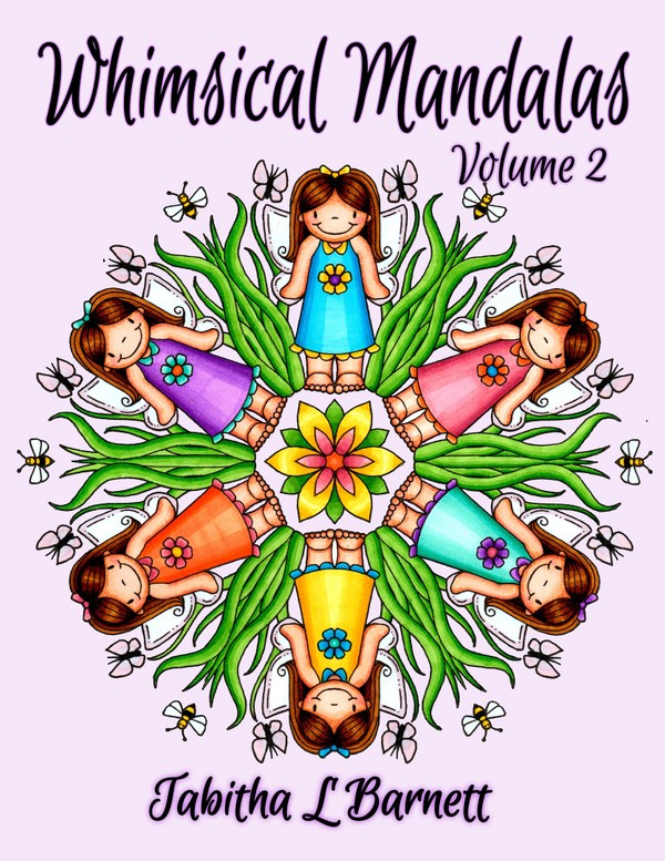 Whimsical Mandalas 2 Adult Coloring Book PDF