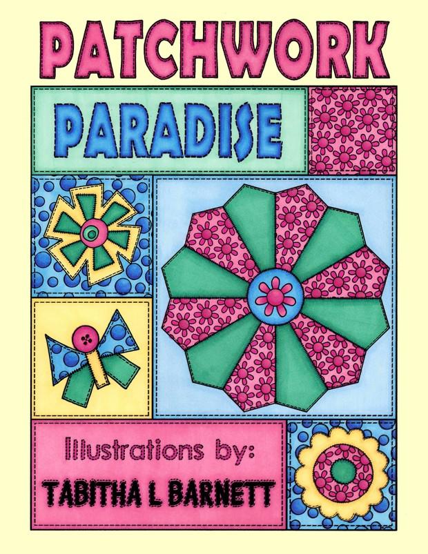 Patchwork Paradise Adult Coloring Book PDF