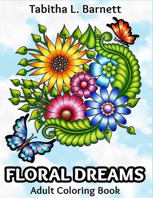 Floral Dreams Adult Coloring Book PDF
