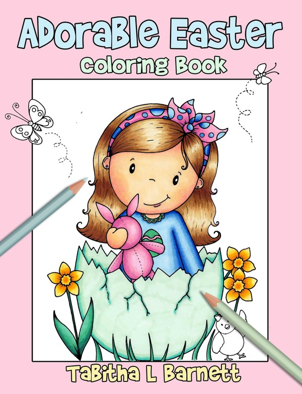 Adorable Easter Coloring Book PDF