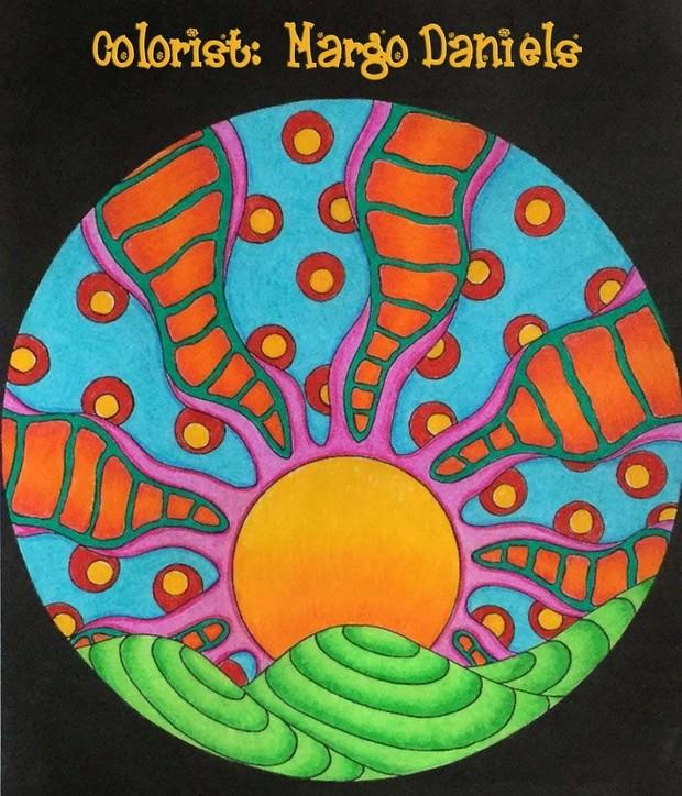 Nature Circles Adult Coloring Pack (3pg. PDF)