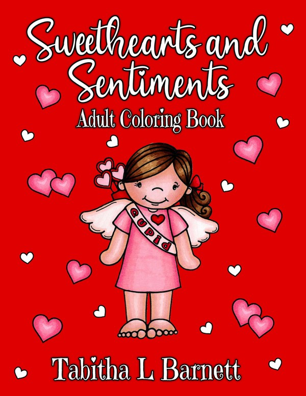 Sweethearts and Sentiments Adult Coloring Book PDF